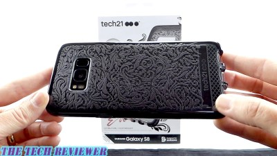 Tech21 Evo Check Lace Edition For Galaxy S8: Stylish, Resists Fingerprints & 10 Ft Drop Protection!