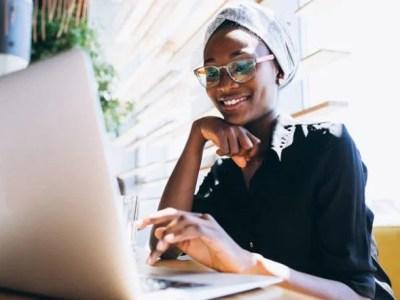 Kenyans working online