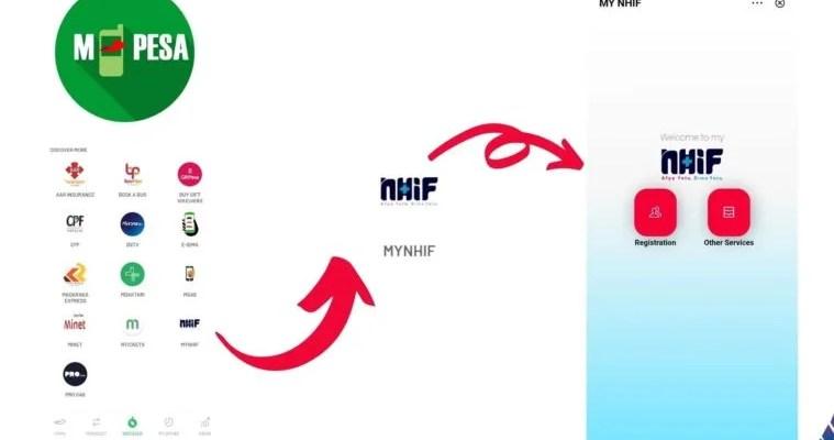 NHIF M-pesa app