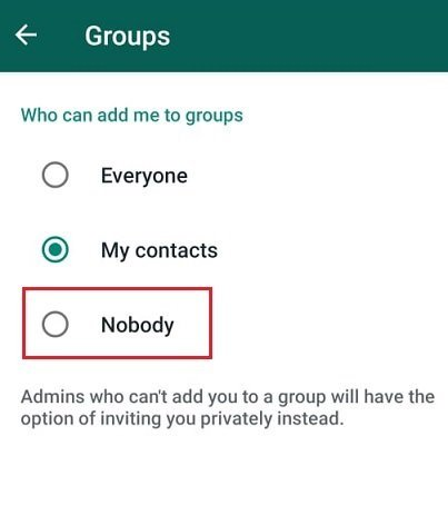 Avoid forced membership in WhatsApp groups with this solution