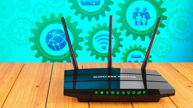 WiFi router settings