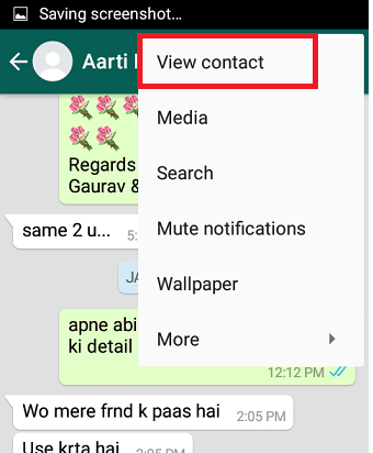 How to delete WhatsApp contacts in Android