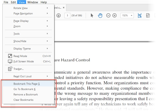 Learn how to bookmark, comment on PDF files