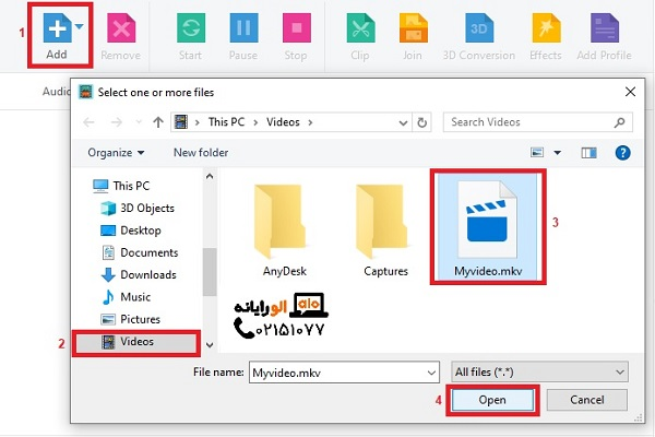 Convert video format with xilisoft video converter