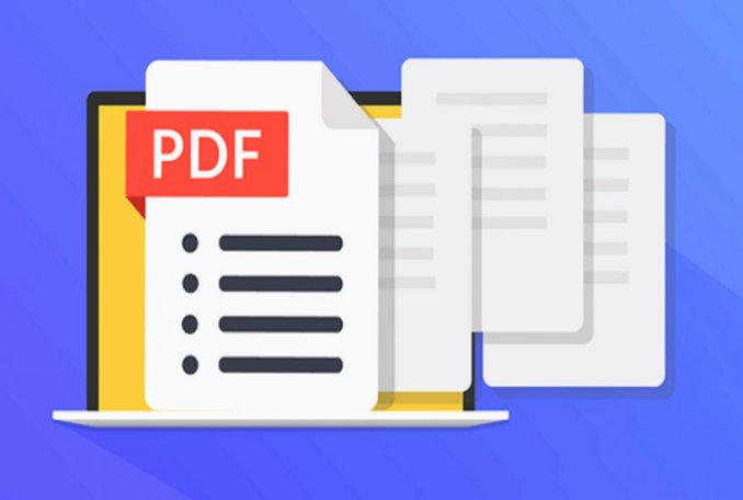 How to save images in a PDF file?