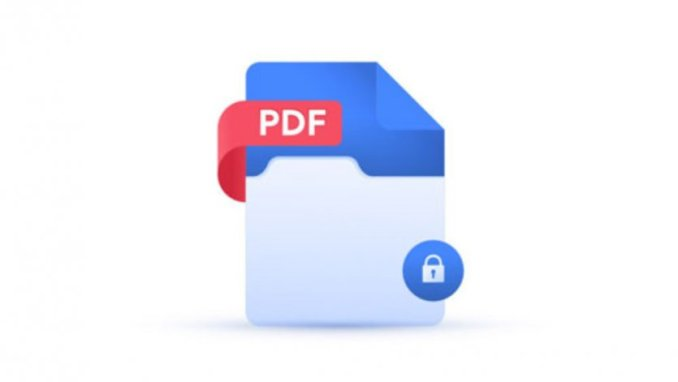How to put a password on a PDF file and lock it?