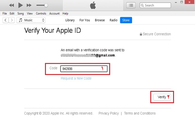 Build an Apple ID with the iTunes app