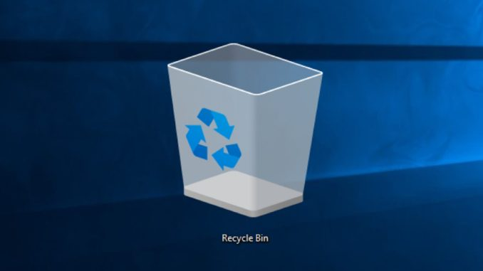 Automatic emptying of the Recycle Bin