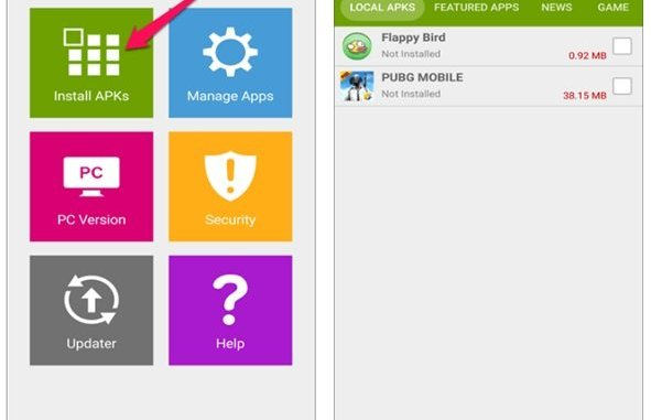 install apps in groups