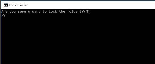Put a password on computer files