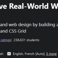 Learn How to Build Responsive Real-World Websites with HTML and CSS 2021-7