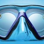 Snapのメガネ型カメラ「Spectacles」を水中メガネに埋め込めるマスク「Seaseeker」