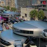都会を渋滞なしで移動できる新交通手段コンセプト「Gyroscopic Monorail System」