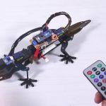 【夏休み】プログラム可能でリモコン操作可能なトカゲのロボットキット「DIY Bionic Robot Lizard」【自由研究】