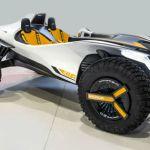 砂漠と河を横断できる電動バギー「Hyundai Kite」