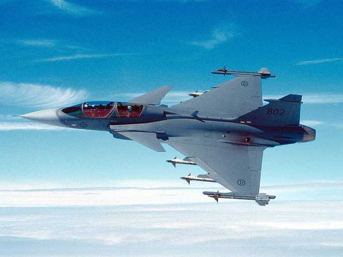 Best fighter jets Saab JAS 39 Gripen