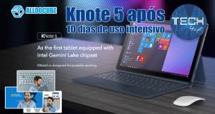 AllDoCube Knote 5 - review após 10 dias de uso