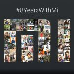 Xiaomi - 8º aniversário