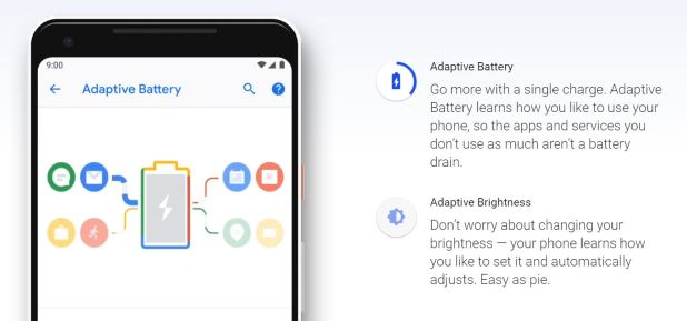 Android P - Adaptative Battery