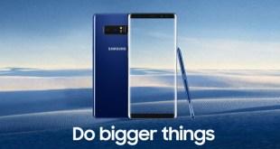 Samsung Galaxy Note 9 - Do bugger things