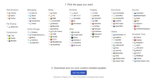 Ninite-seleccionar-apps
