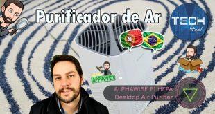 Purificador de ar Alfawise P1