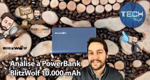 BlitzWolf BW-P3 PowerBank 10.000 mAh - Unboxing e Análise
