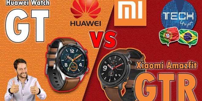 Xiaomi Amazfit GTR vs Huawei Watch GT - comparativo