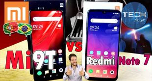 comparativo Xiaomi Mi 9T vs Redmi Note 7