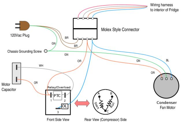 Frost Free Refrigerator Wiring Diagram – Wiring Diagram For Whirlpool Refrigerator