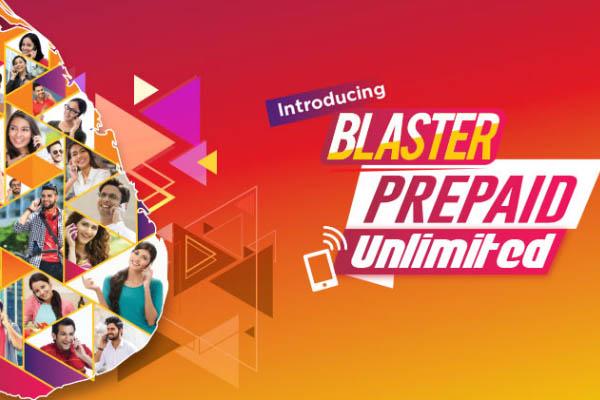 Dialog Prepaid Blaster Unlimited Calls FREE D2D