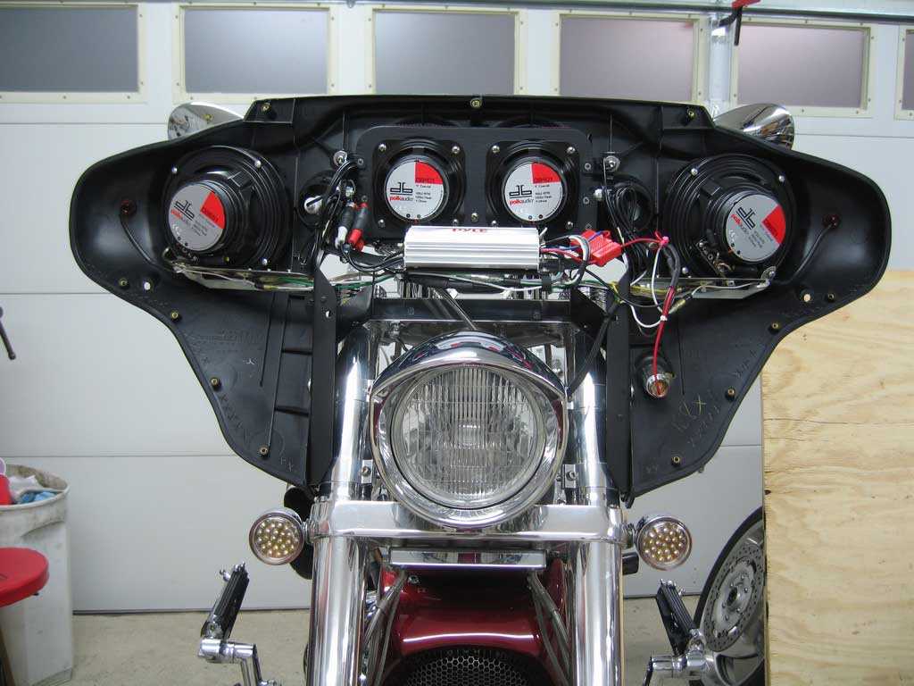 Wiring Diagram For Harley Air Ride Batwing Fairing Project Complete 171 Bareass Choppers