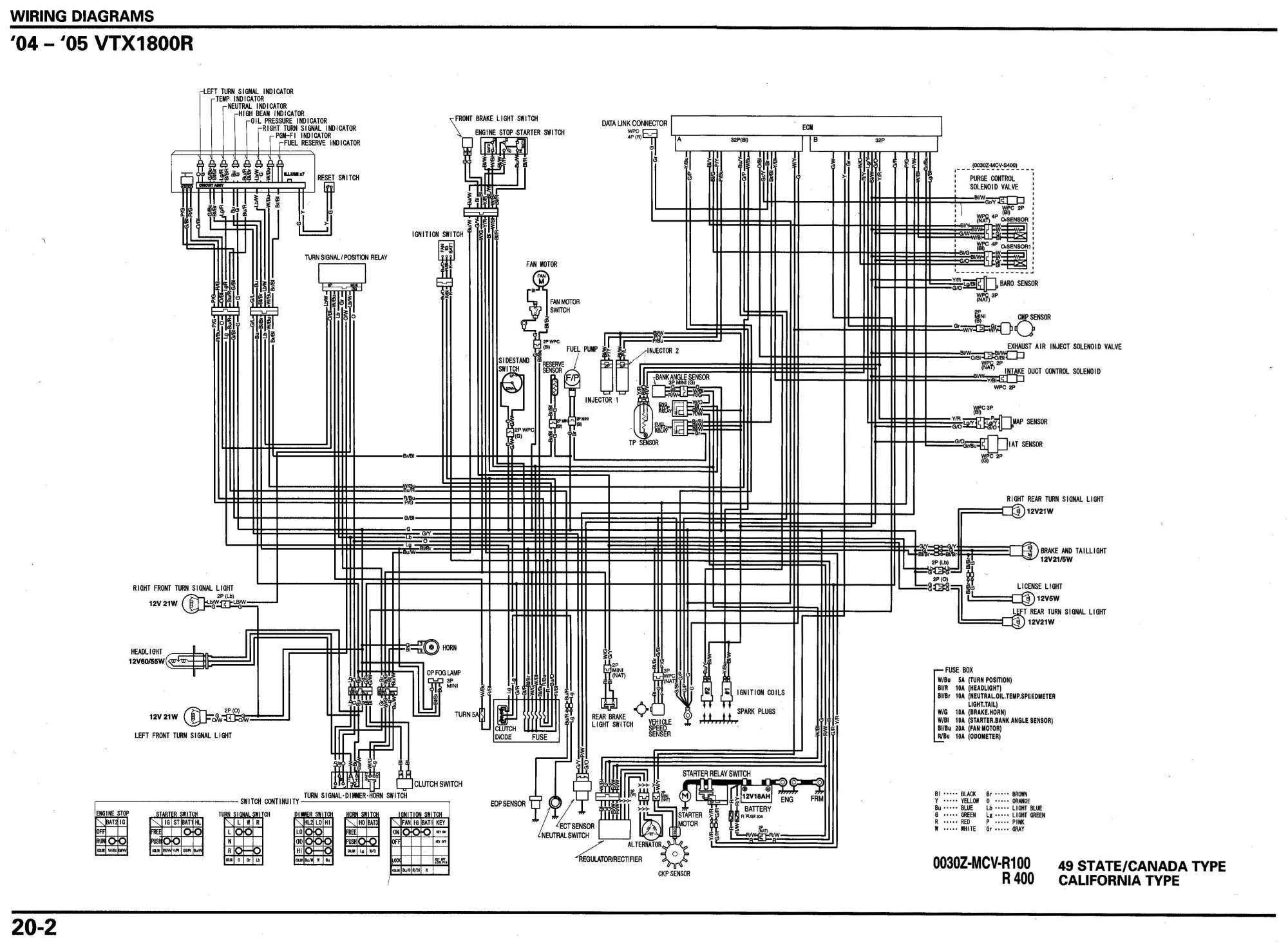 hight resolution of 2003 vtx 1800c turn signal wiring diagram 41 wiring honda shadow turn signal wiring diagram 1995