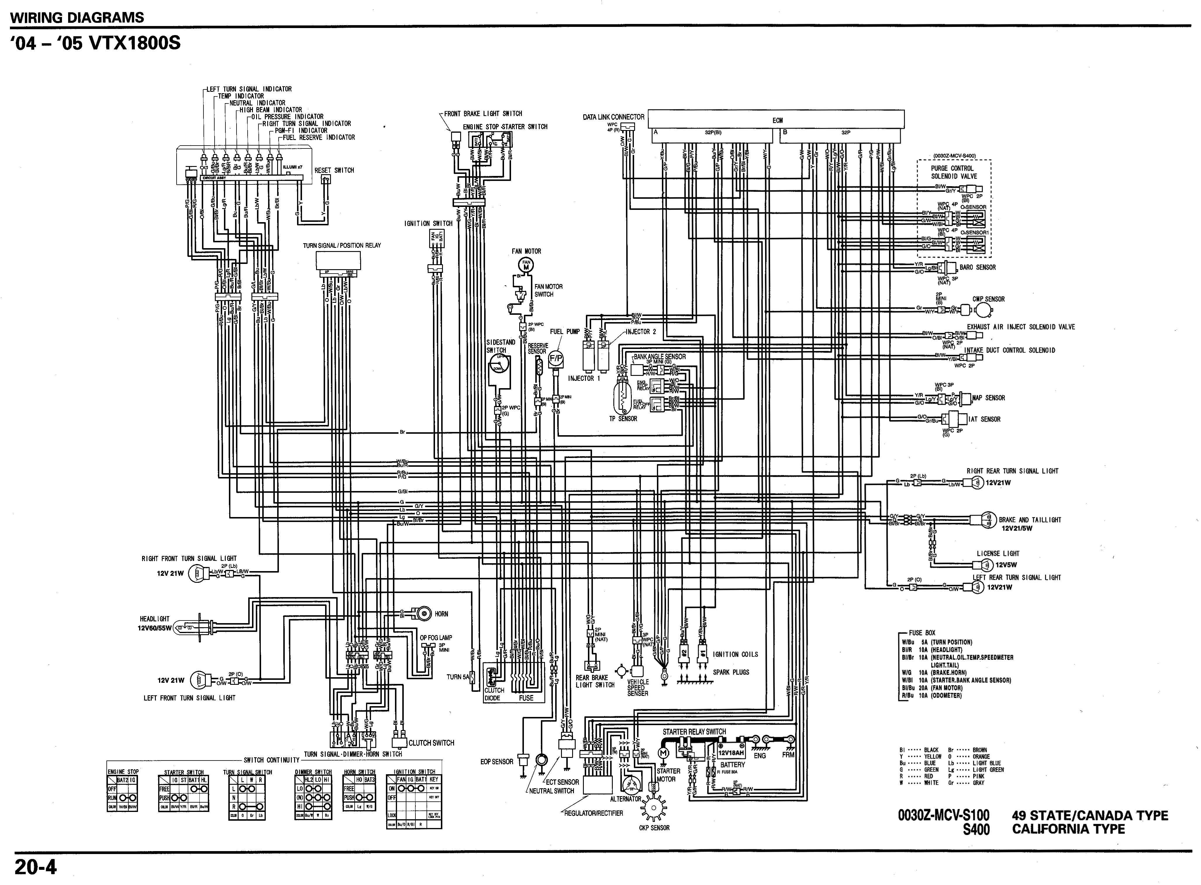 honda goldwing 1800 radio wiring diagram typical light switch s 2004 speedo in 2002 1800s vtxoa