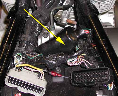 accessory power lead for the honda vtx 1800  bareass