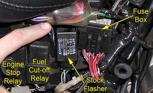 1996 Honda Accord Under Hood Fuse Box Replacement Flasher 171 Bareass Choppers Motorcycle Tech Pages
