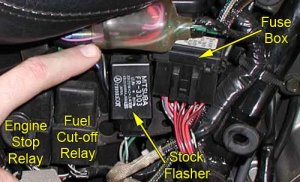Replacement Flasher « Bareass Choppers Motorcycle Tech Pages