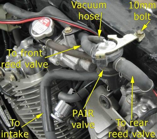 small resolution of vtx 1300 pair valve assembly