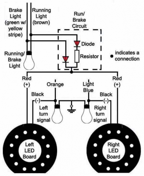 motorcycle turn signal circuit