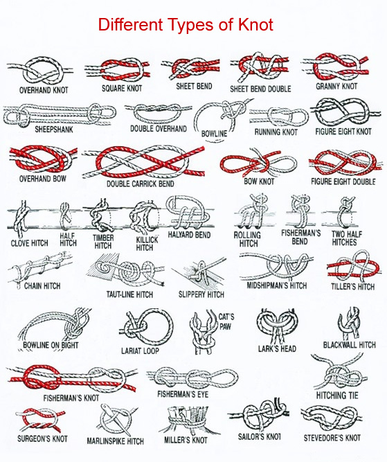 Types Of Knots Pictures to Pin on Pinterest PinsDaddy