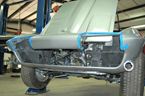 small resolution of first and foremost we cover the headlight openings with painter s tape it is far too easy to scratch the headlight bucket and or the car as you work in