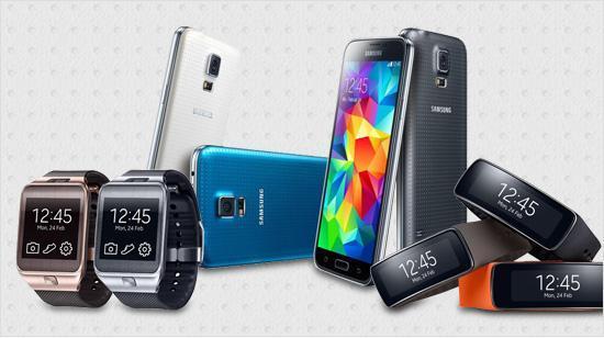 Nur diese Geräte sind mit Samsungs GearSmartwatches