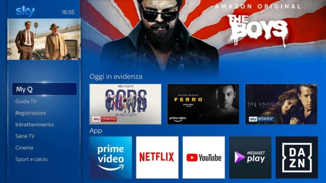 Sky Q si arricchisce ulteriormente: arriva Amazon Prime Video, con la Champions League?