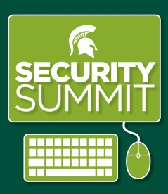 MSU Security Summit event graphic