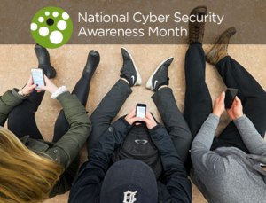 National Cyber Security Awareness Month image