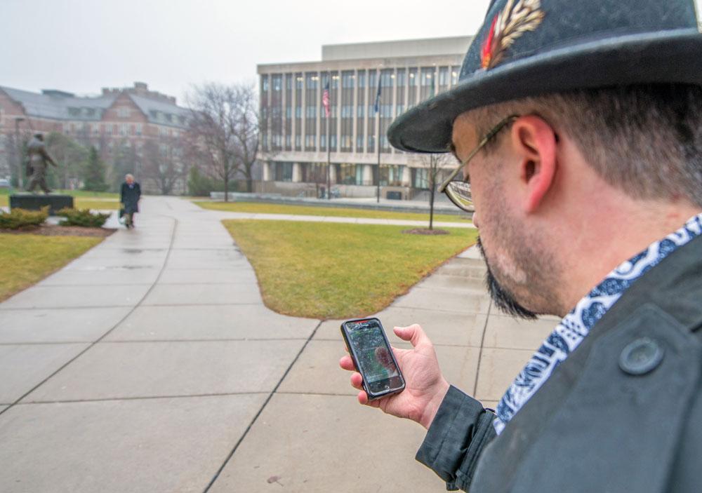 Technology At MSU MSU Interactive Maps Launches Wayfinding - Interactive map msu