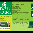 welcome back hours, full hours listed in blog text