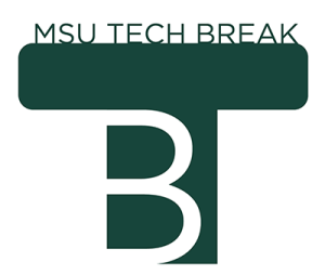 Logo for Michigan State University Tech Break