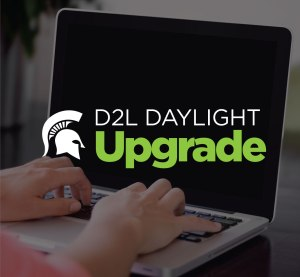 D2L Daylight Upgrade graphic