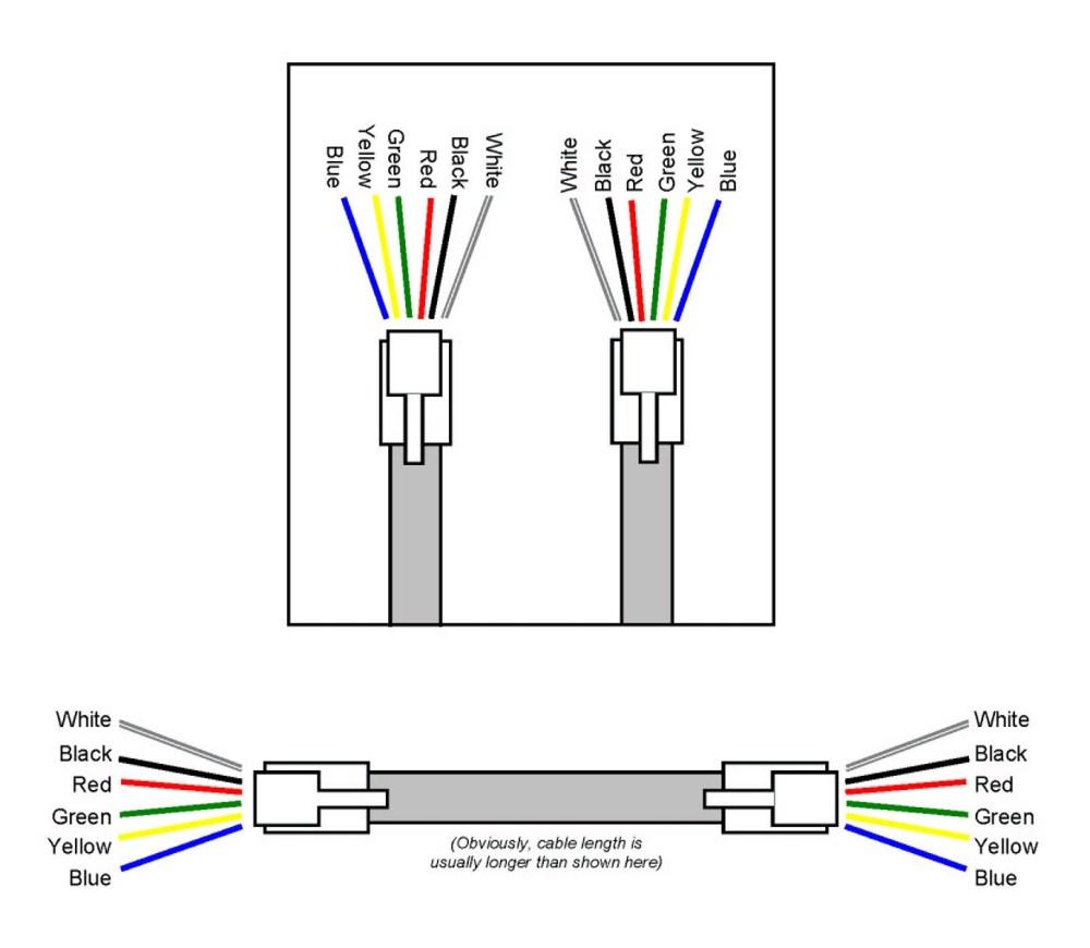 medium resolution of 6p6c wiring diagram
